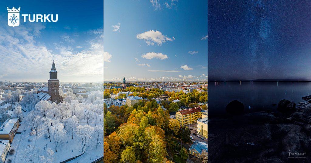 Turun kaupungin 360VR-esittely