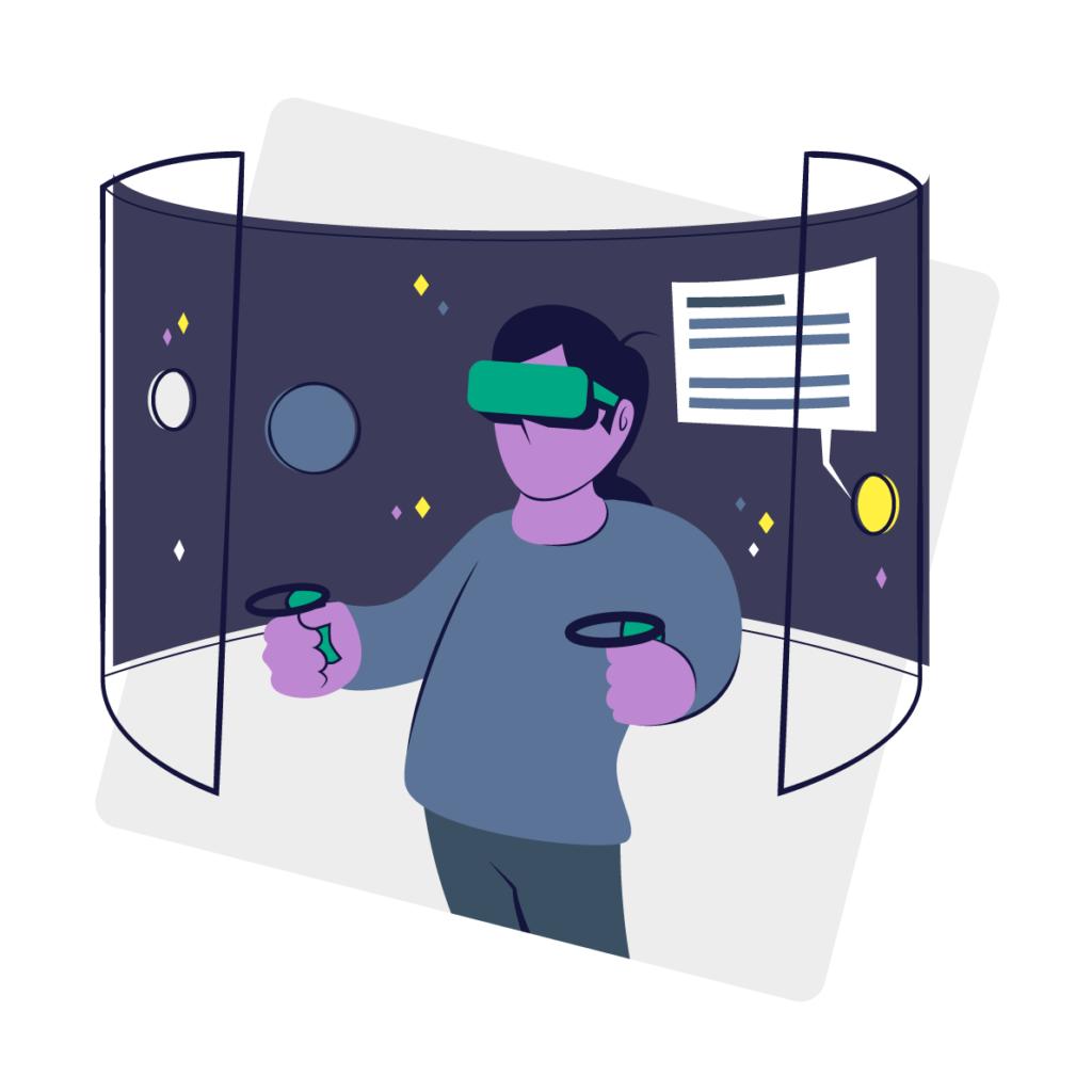 VR AR MR? Virtual Reality, Virtuaalitodellisuus.