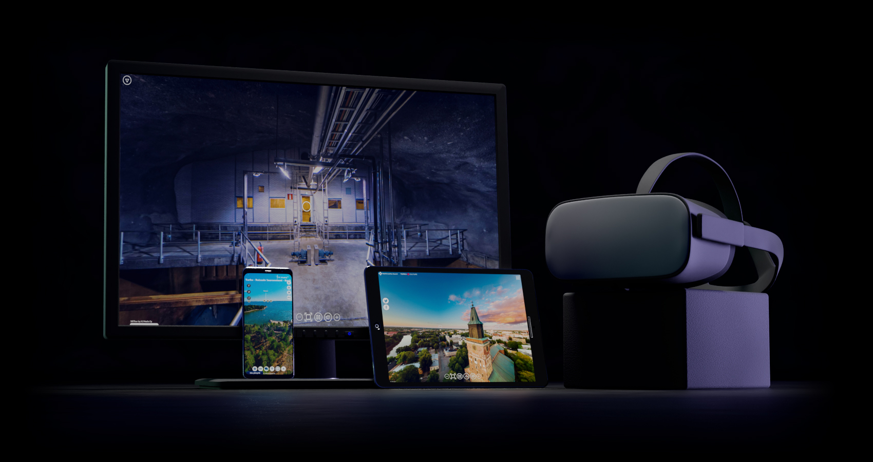 VR tour 360 panorama